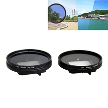 For GoPro HERO5 Professional 52MM Filter CPL Filter Lens Cap UV Filter Hex Spanner for Go Pro Hero 5 Action Camera Accessories