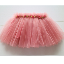 dark pink knee-length skirts girl high quality skirt nylon summer skirt for girls