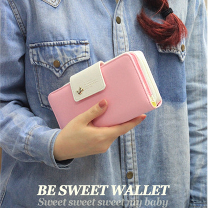 Hanup 2016 Women Wallets Winter Fashion Trends Pumping Multi-card Position Two Fold Wallet lady Long Zipper Purse Card Holder recent trends for solving fuzzy multi objective programming problems