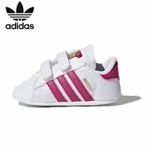 цена на ADIDAS SUPERSTAR CRIB Original Baby Shoes Classic Comfortable Infant Running Shoes #S79916 S79917