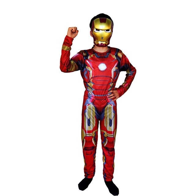 Halloween Captain America Superman Batman Hulk IronMan Thor Muscle Costume