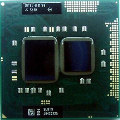 Intel Laptop Cpu I5 560M Laptop Cpu 2.66Ghz To 3.2Ghz 3M Cache K0 PGA988 Turbo Boost PGA Official Version Notebook Cpu 35W TDP
