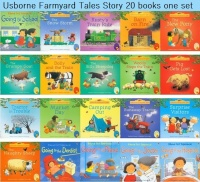 20 Pieces Set 15x15cm Best Picture Books For Children And Baby Famous Story English Tales Series