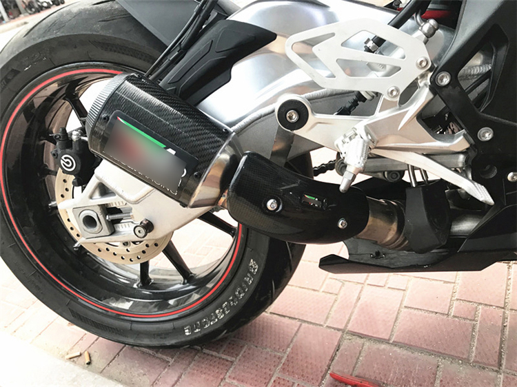 S1000rr Exhaust Pipe Motorcycle Exhaust System Carbon Fiber Tip