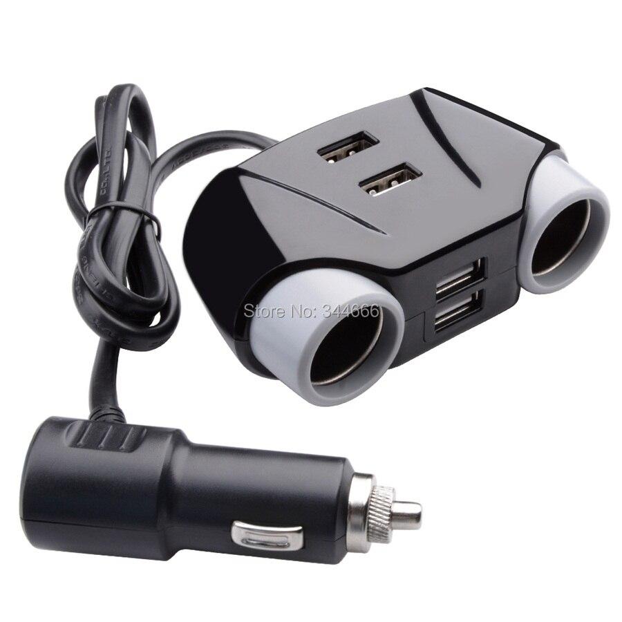 4 Port Usb Mobil 42a Charger Dengan 2 Soket Pemantik Rokok Splitter Adapter 1a Dan 2a Adaptor Untuk Ipad Iphone 6 S 7 Samsung Dvr Di Dari