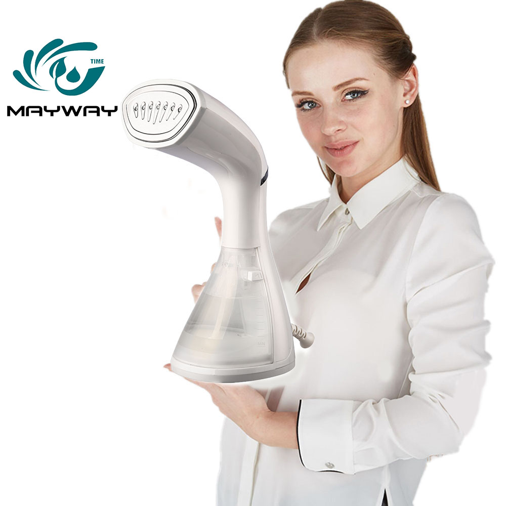 Garment Steamers Clothes Mini Steam Iron Handheld dry Cleaning Brush Clothes Household Appliance Portable Travel/Home Ironing-in Garment Steamers from Home Appliances    1
