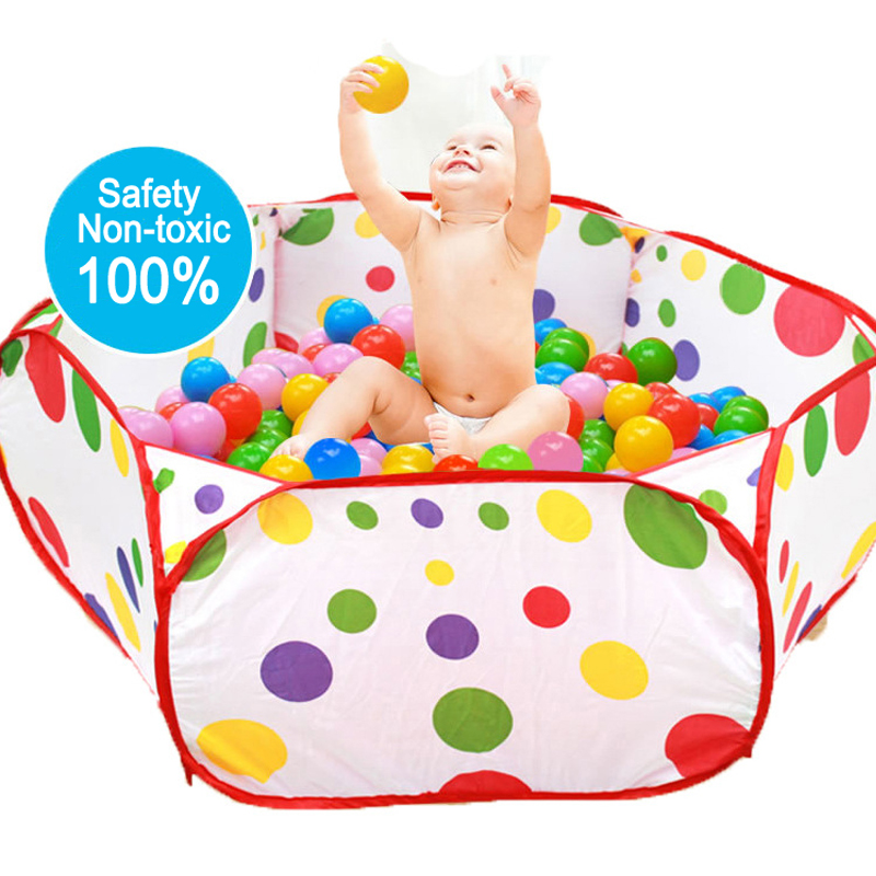 New Baby Toy Ball Pits Ocean Series Ball Cartoon Play Pool Foldable Children's Toys Tent For Ocean Balls Outdoor Sports Toy