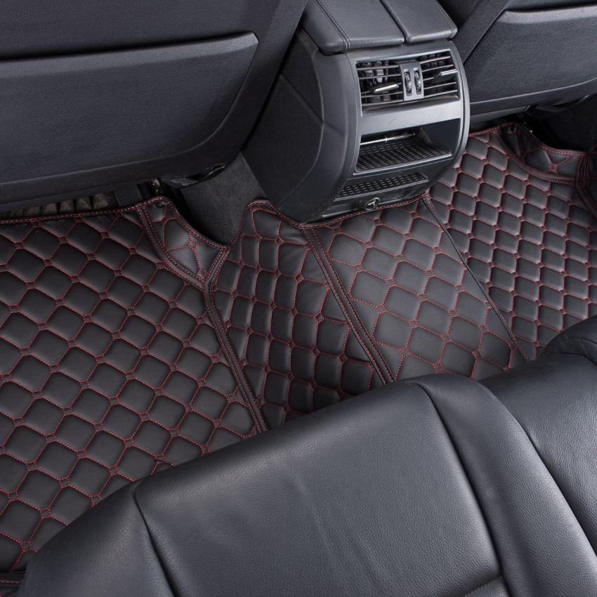 Car Floor Mats For Vw Golf Touran Tiguan Jetta Pat Cc Scirocco Touareg Foot Carpets Rug Customized In From Automobiles