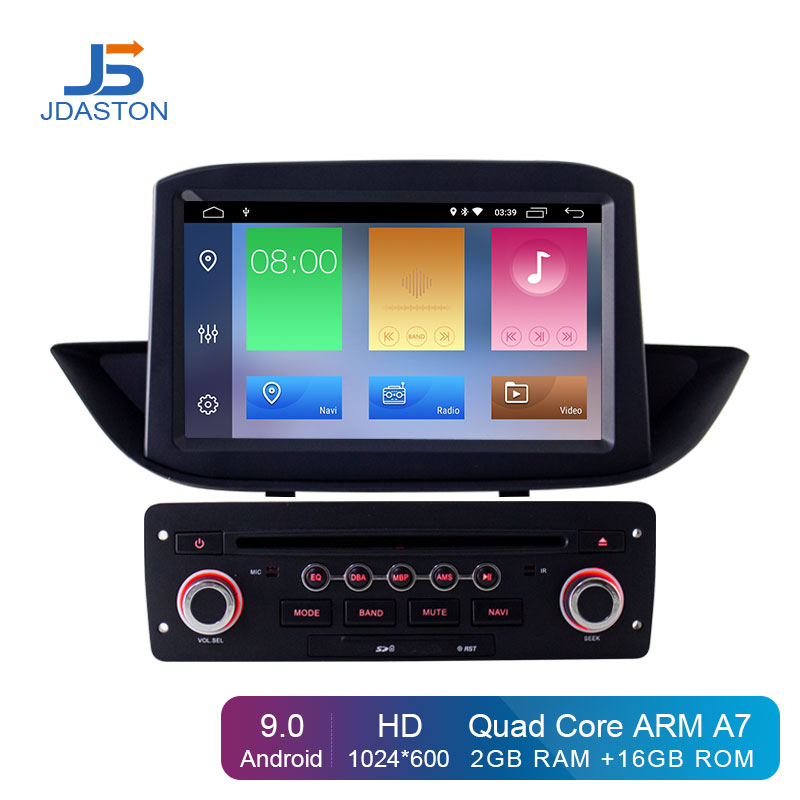 JDASTON Android 9.0 Car DVD Player For <font><b>Peugeot</b></font> <font><b>308</b></font> 2010-2015 <font><b>GPS</b></font> Navigation Wifi Multimedia Stereo 1 Din Car Radio Autoaudio IPS image