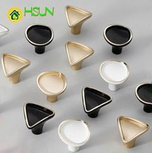 Drawer Handle Foramina Singulare Cabinet Wardrobe Doorknob Hand Concise Continuous System Northern Europe Cupboard Shoe