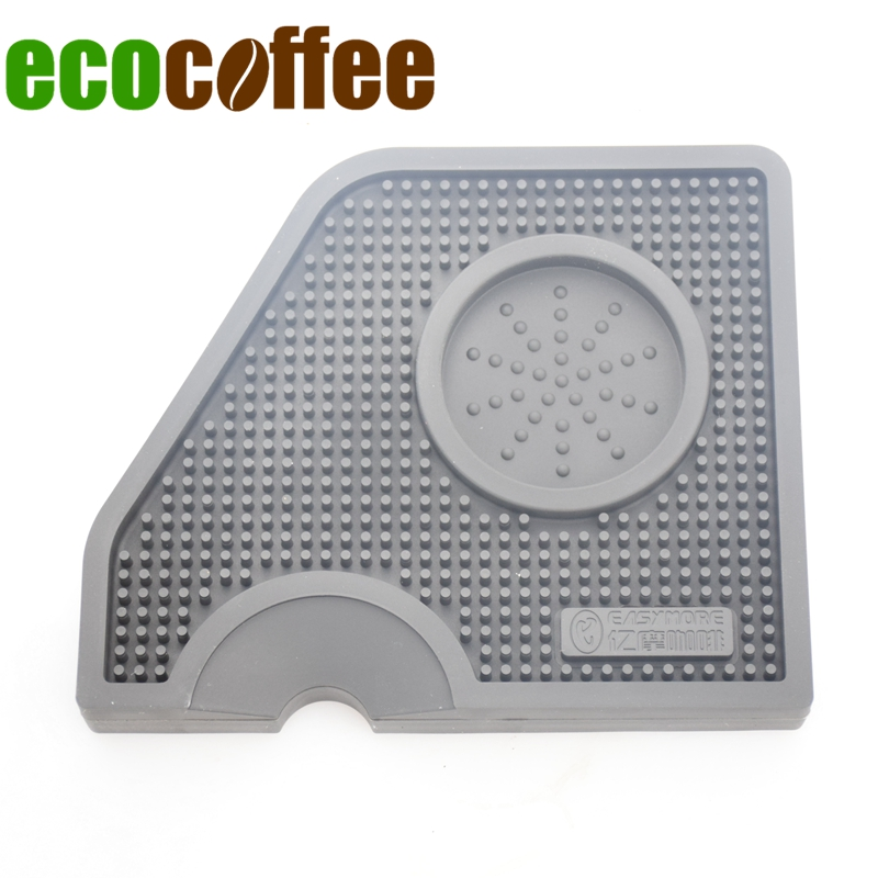 New Arrival Coffee Tampering Corner Mat Pod Tool Made for Barista Silicone Coffee Tamper Mat BlackNew Arrival Coffee Tampering Corner Mat Pod Tool Made for Barista Silicone Coffee Tamper Mat Black