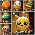 2016 Новый дизайн Корея Мультфильм лица Kakao frineds Kobito Райан подушка Подушка 40*40 см Плюшевые игрушки