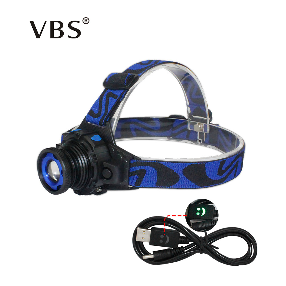 Headlamps Zoomable 5W Super Bright Headlamp Head Led <font><b>Flashlight</b></font> USB <font><b>Charger</b></font> EU US Head Led <font><b>Flashlight</b></font> Cree Q5 Led Head Lamp