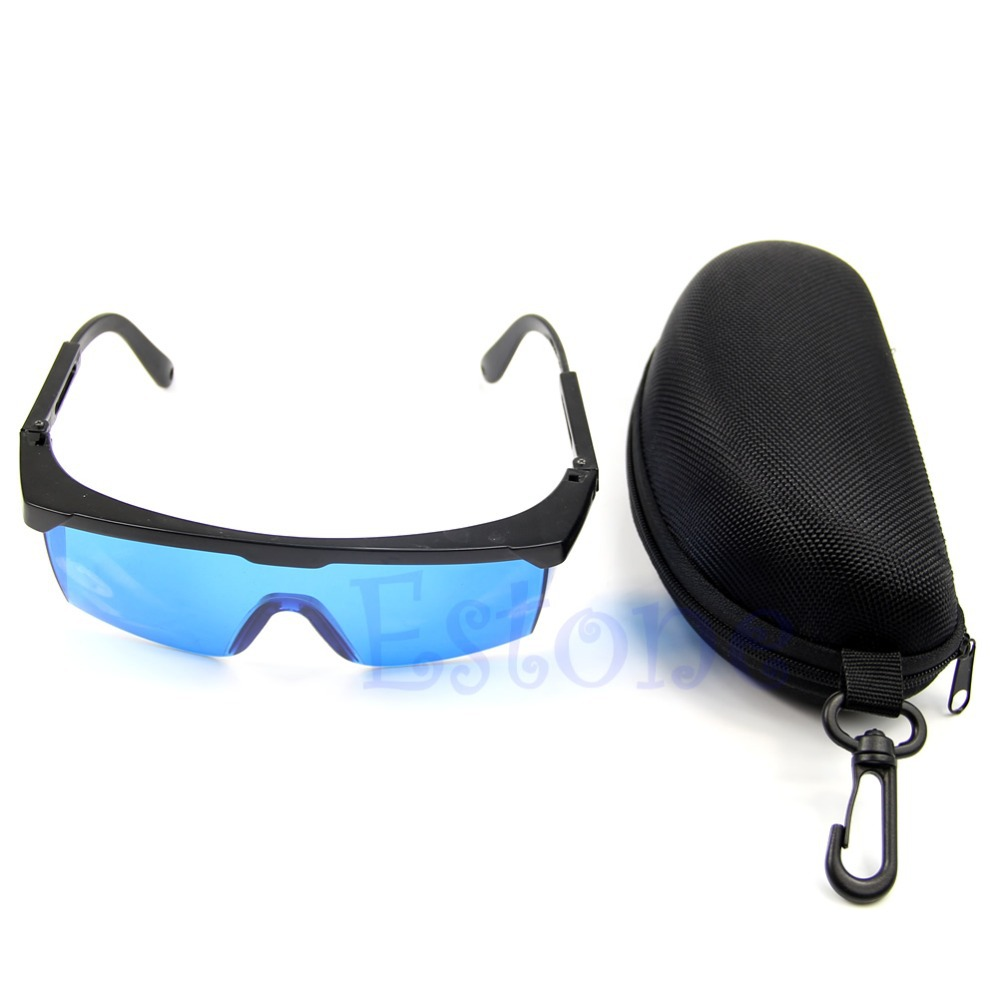 2X600nm700nm Beauty operator safety Protective Glasses Red Laser Protection Goggle With Hard Protect Box Hot