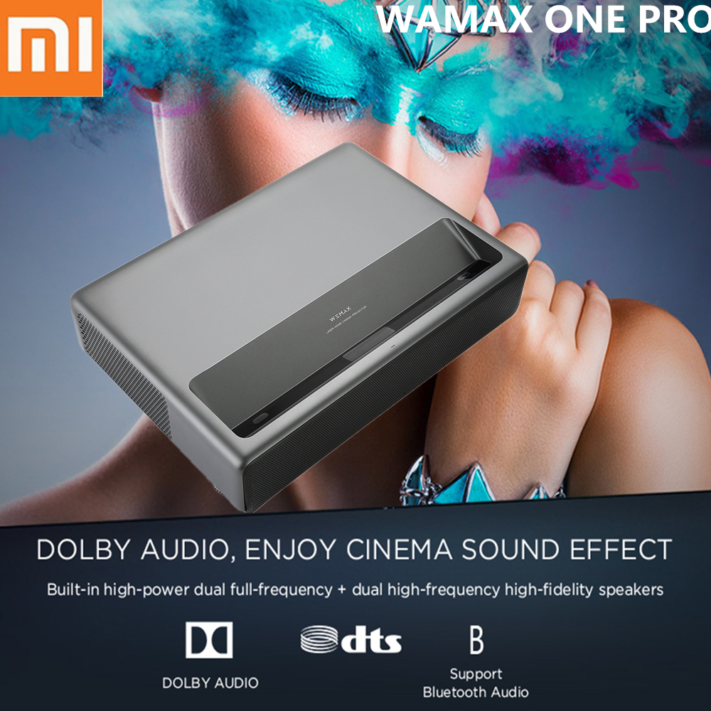 Xiaomi WAMAX ONE PRO Laser Projector 1688 ANSI LUMEN 7000lm Full HD 4K ALPD 3.0 DOLBY Sound 3D Home Theater Projector