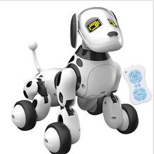 New  Intelligent RC Robot Dog Toy Remote Control Smart Dog Kids Toys Cute Animal RC Robot Gifts For Children Birthday rc smart robot english toy r 1 infrared slide walk shoot missile dancing intelligent remote control battle droid toy for kids