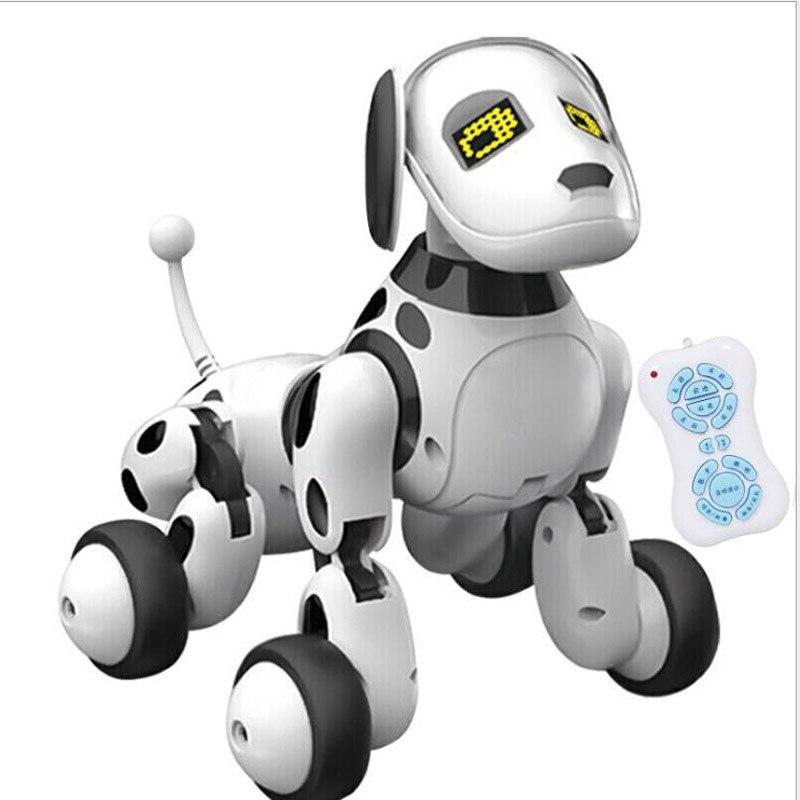 Nouveau jouet Intelligent RC Robot chien télécommande chien Intelligent enfants jouets mignon Animal RC Robot cadeaux pour enfants anniversaire