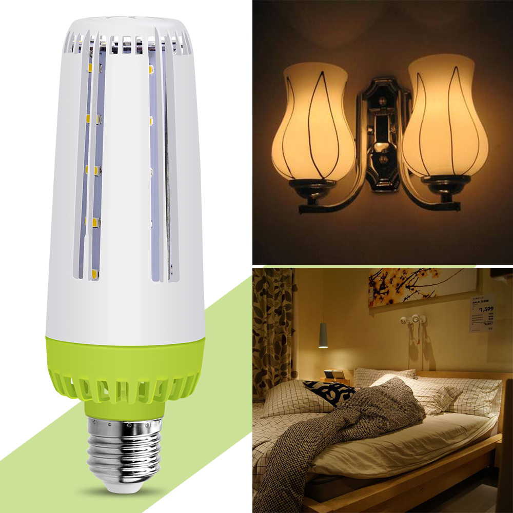 E27 LED Lamp 220V No Flicker Eye protection Light Smart IC LED E14 Bulb 5736 Energy saving Corn Bulb 110V High Power 10W 15W 20W