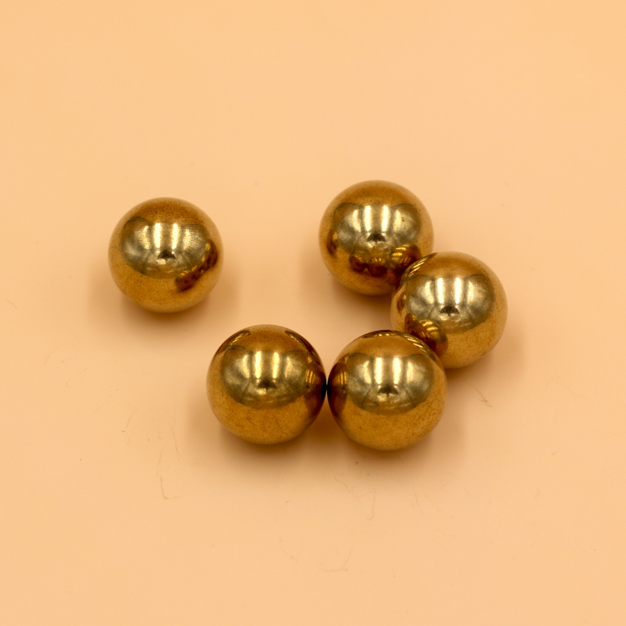 20mm 5 PCS Solid Brass ( H62 )  Bearing Ball High Quality Free Shipping