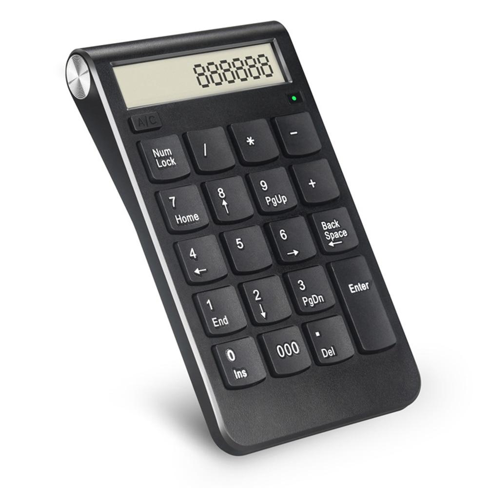 1 Pcs 2.4G Wireless Numeric Keyboard USB Number Mini 20 Keys For Computer PC Laptop ND998