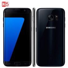 """סמארטפון סמסונג גלקסי S7 G930F/G930A/G930V נייד טלפון 5.1 """"תצוגת 32GB ROM Quad Core NFC WIFI GPS 12MP 4G LTE טביעות אצבע"""