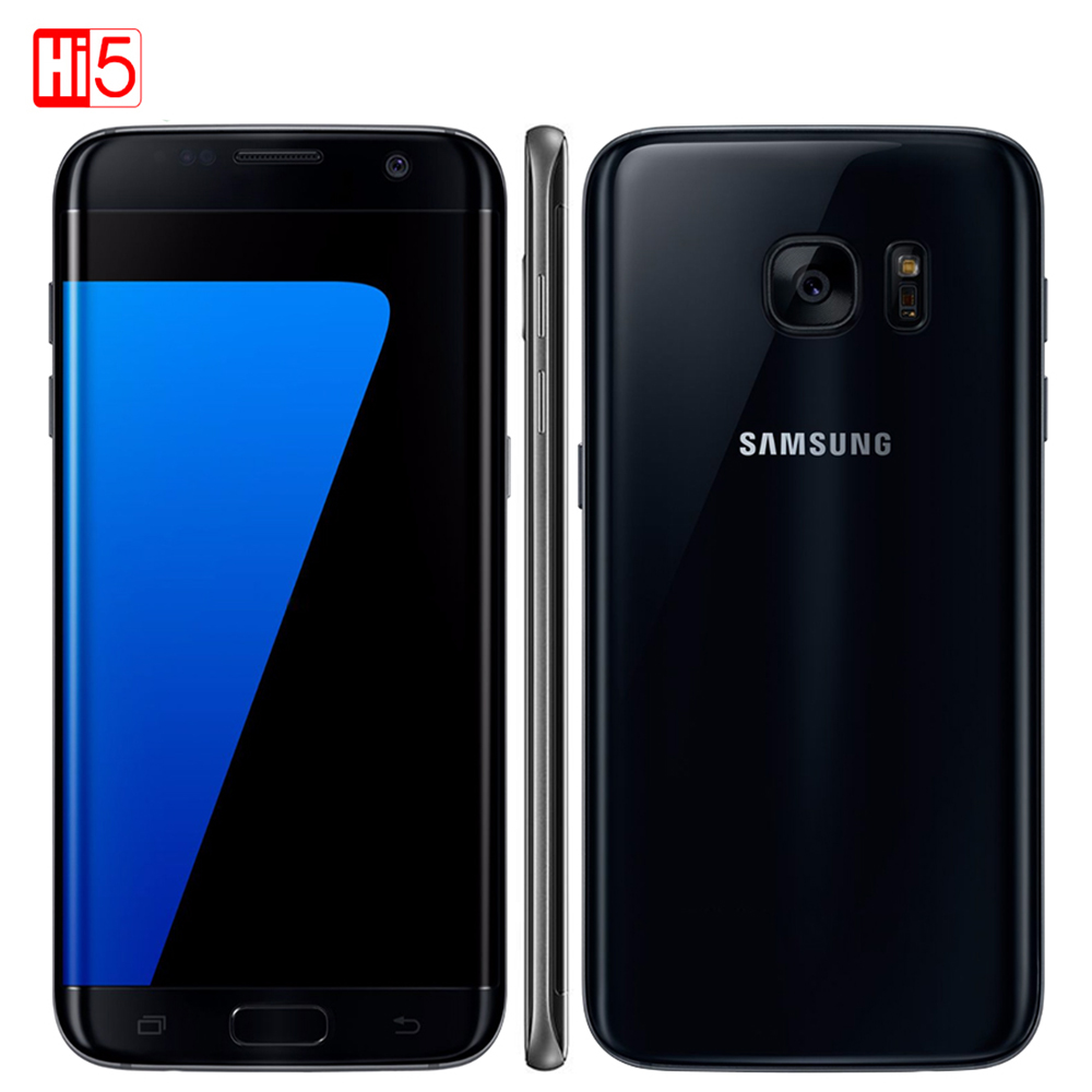 "Unlocked Samsung Galaxy S7 G930F/G930A/G930V mobile phone 5.1 ""display 32GB ROM Quad Core NFC WIFI GPS 12MP 4G LTE fingerprint