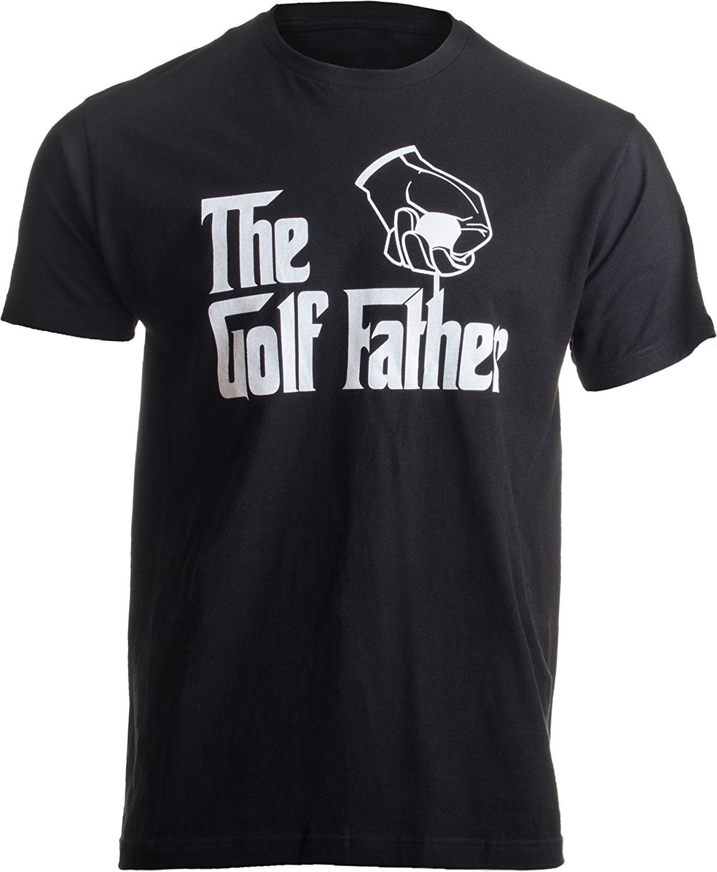Arbor T-shirt Co. The Golfer Father  Funny Saying Golfing Shirt, Golfer Ball Humor For Men T-Shirt