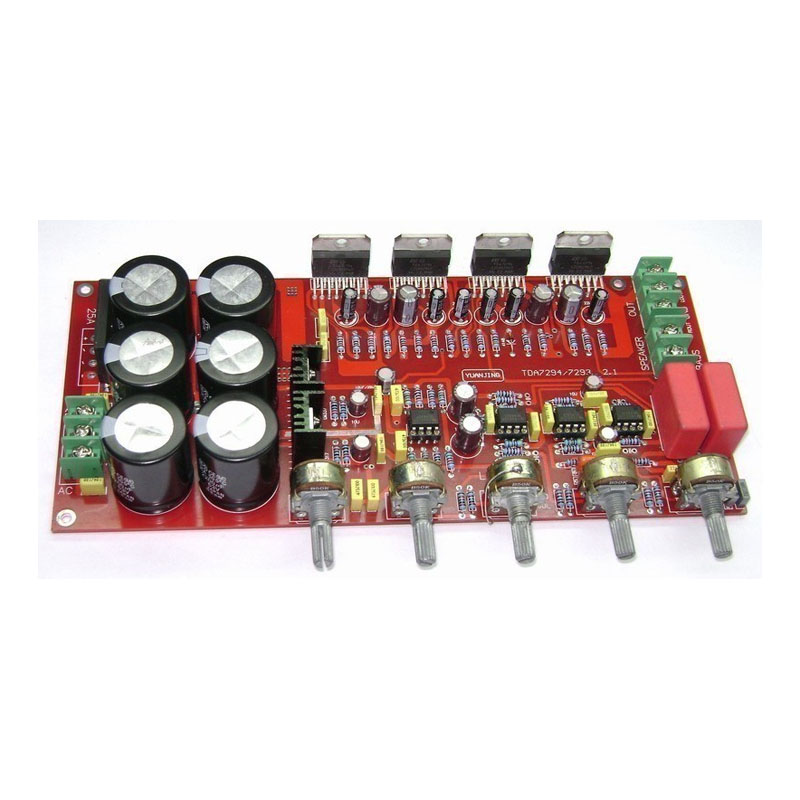 2.1 TDA7294 power amplifier board 2X80W+160W потребительская электроника oem mono power amplifier 2 tda7294 80w mono power amplifier tda7294