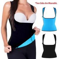 Neoprene Body Shaper Hot Sweat Shapewear Womens Weight Loss Tank Top Neoprene Sauna Waist Cincher Vest