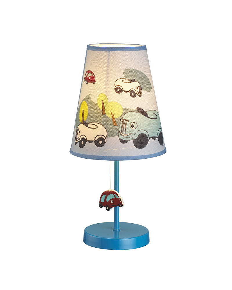 Kids Lamps Cartoon & Cars Theme Table Lamp Children Light