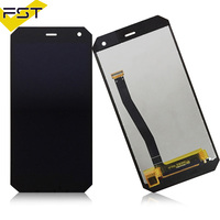 Black For NOMU S10 LCD Display Touch Screen Assembly High Quality Digitizer Glass Panel Replacement For