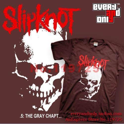 9650ce92 Slipknot Heavy Metal Band Skull And Tribal T-shirt Tee Camistas Clothing  Mick Thomson