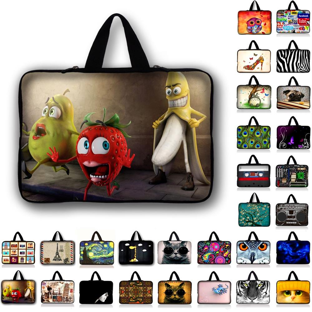 7 10 12 13 14 15 17 Neoprene Laptop Bag Sleeve Pouch Bag For Notebook Computer Bag 13.3 15.4 15.6 17.3 For Macbook Air / Pro #
