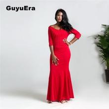 42d16a5cba GuyuEra New Arrival African women s long dress Amazon beaded v-neck sleeve sexy  dress Plus