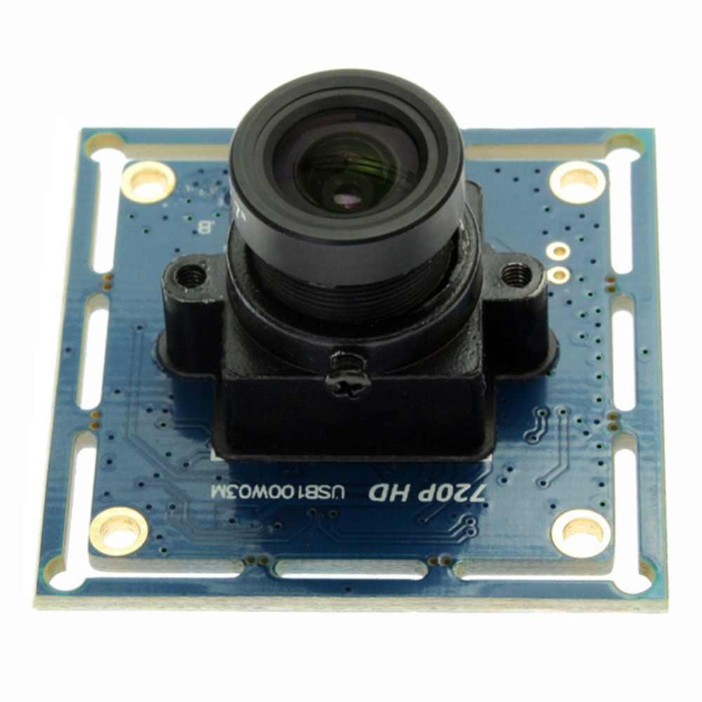 720 P бесплатно драйвер CMOS OV9712 MJPEG эндоскопа USB 2,0 UVC веб-камера с высокой четкостью модуль hd-камеры с 8 мм объектив