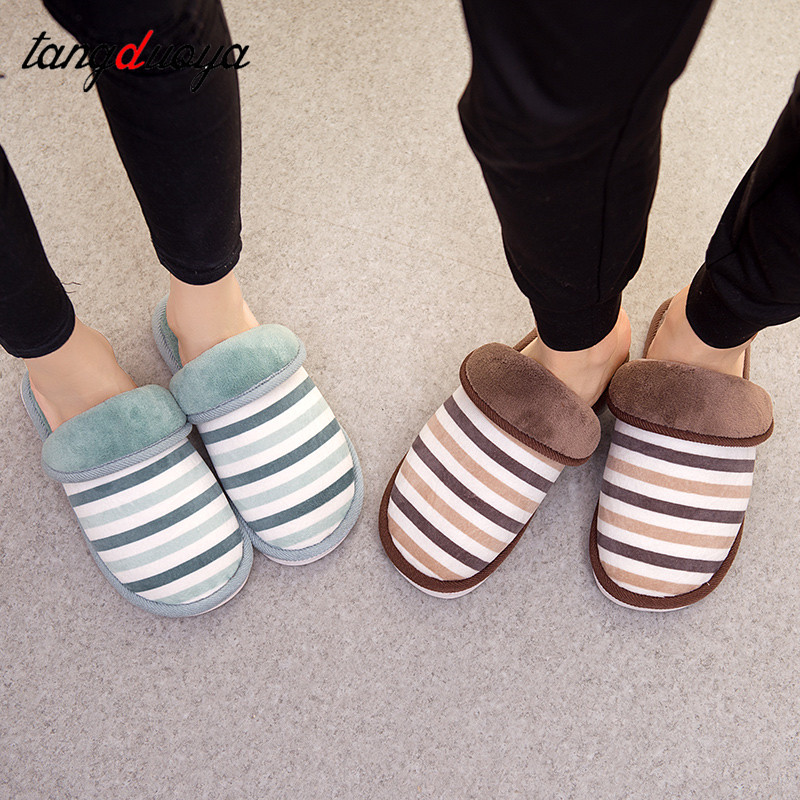 striped slippers women winter slippers men indoor slippers shoes women home shoes men flat couple shoes scarpe donna fghgf shoes men s slippers kma