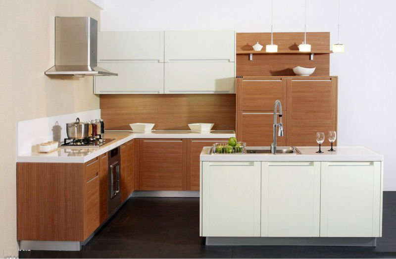 MDF door panel kitchen cabinet design-in Kitchen Cabinets from Home ...