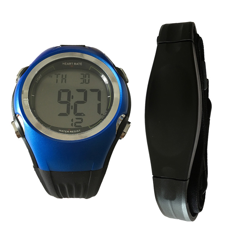 Polar Style Heart Rate Watch Cardio Fitness Digital 5.3KHz Sports Wristwatches Running Cycling Heart Rate Monitor Chest Strap