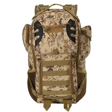 45l Molle Backpack Men 3d Military Tactical Backpacks Hiking Camping Travel Bags Large Camouflage Rucksack Mochila Masculina
