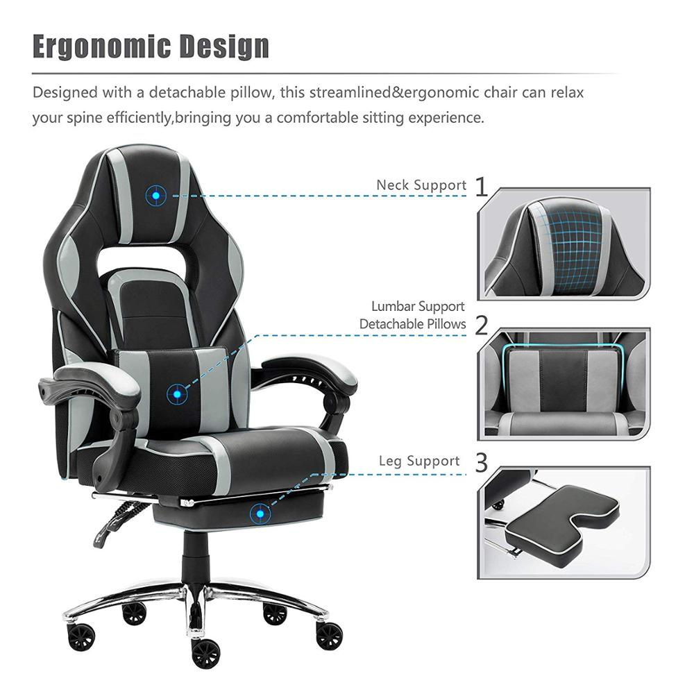 Leather Office Gaming Chair…