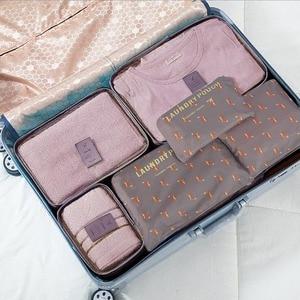 6 piece set / set Oxford knit