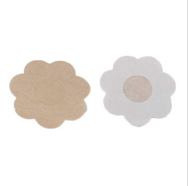 CINOON 10 шт./партия цветок клейкие накладки на соски тела наклейки на грудь одноразовые, для молока паста Анти опорожняет грудь накладной бюстгальтер