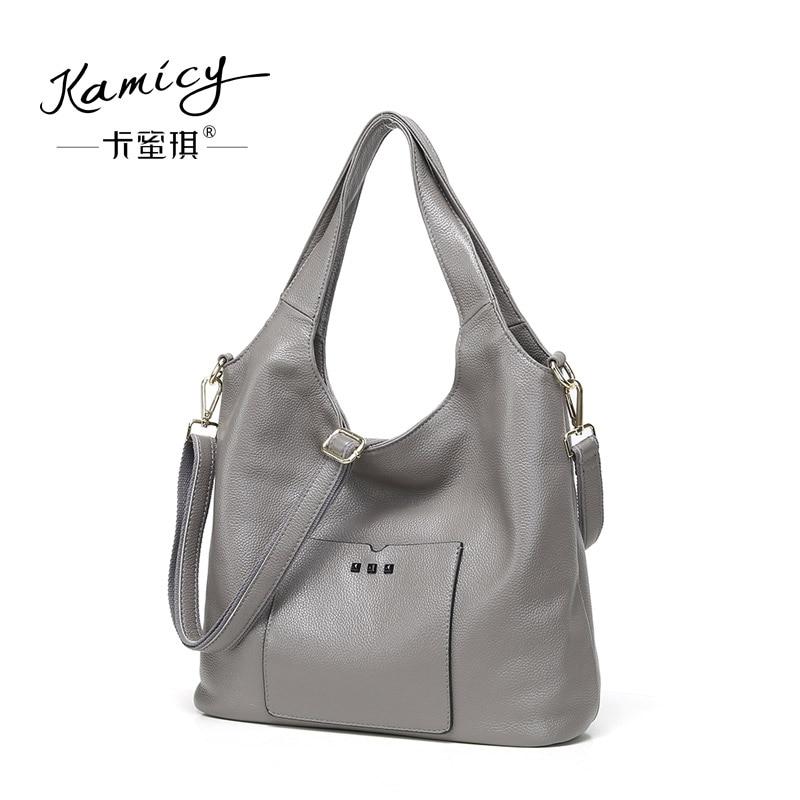 567ebee83927 Handbags women fall 2018 new recreational temperament handbag leather  handbag fashion one shoulder his duffle bag
