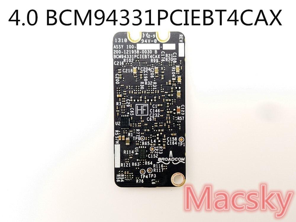 Carte d'origine Bluetooth 4.0 WiFi carte aéroport pour MacBook Pro 13