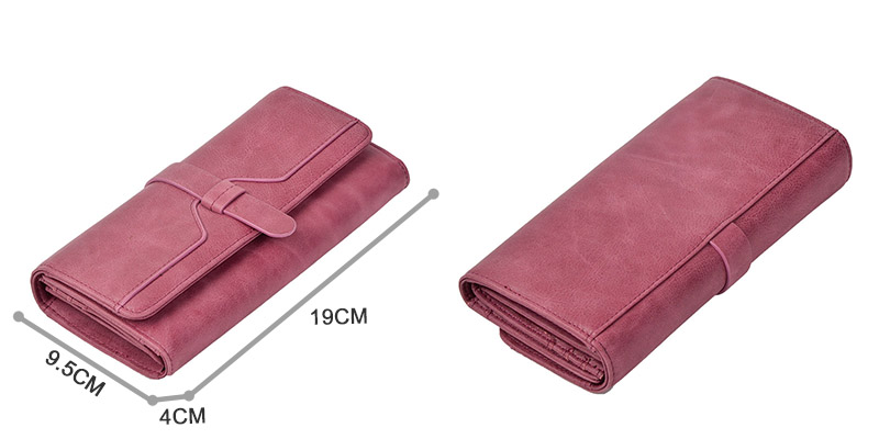 EASTNIGHTS High Quality Fashion Genuine Leather Women's Wallet