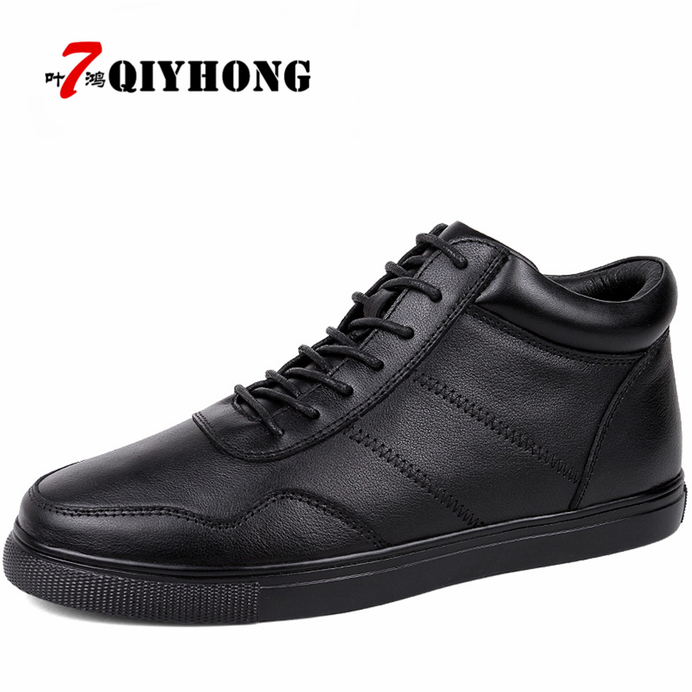 Men's 100% Genuine Leather Handmade Driving Shoes QIYHONG Brand Flats Loafers For Men Shoes Fashion Casual Shoes Big Size 38-48 bole new handmade genuine leather men shoes designer slip on fashion men driving loafers men flats casual shoes large size 37 47