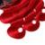Pelo Virginal malasio Con Cierre Sexy Fórmula Pelo Malasio de la Onda Del Cuerpo con Cierre de Cabello Ondulado Ombre Dos Tonos 1B Raíz Rojo Oscuro