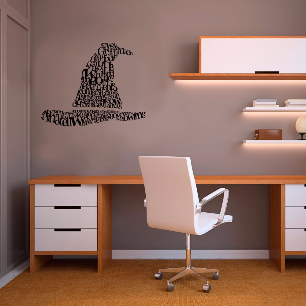 Harry Potter Sorting Hat Wall Sticker