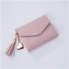 ONLVAN Solid PU Leather Women hasp short Wallet 2 Fold PU Leather Coin cash bag Female Wallets Holder Portefeuille femme etui