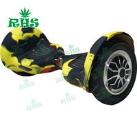 Factory Wholesale 10 Inch Hoverboard Hands Free Two Wheel Self Balancing Electric Scooter Protective Silicone Case